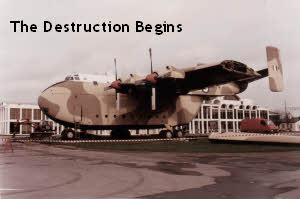 The destruction of XH124