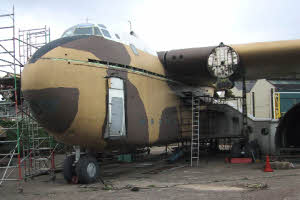 XB259 being dismantled